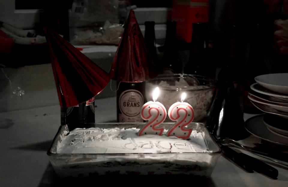 Il mio 22esimo compleanno ad Oslo