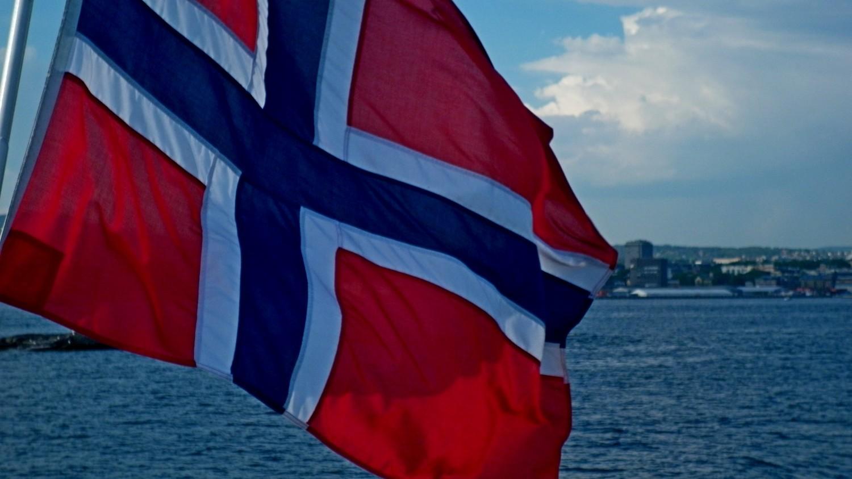 La bandiera norvegese