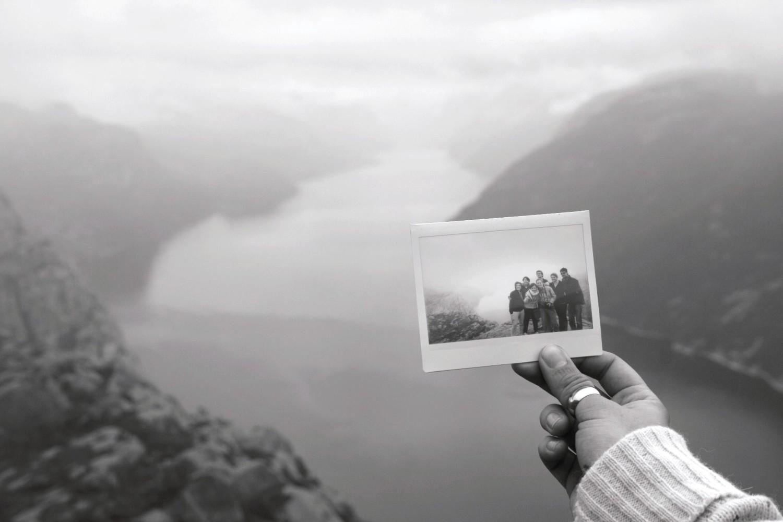 Di fronte al Lysefjorden