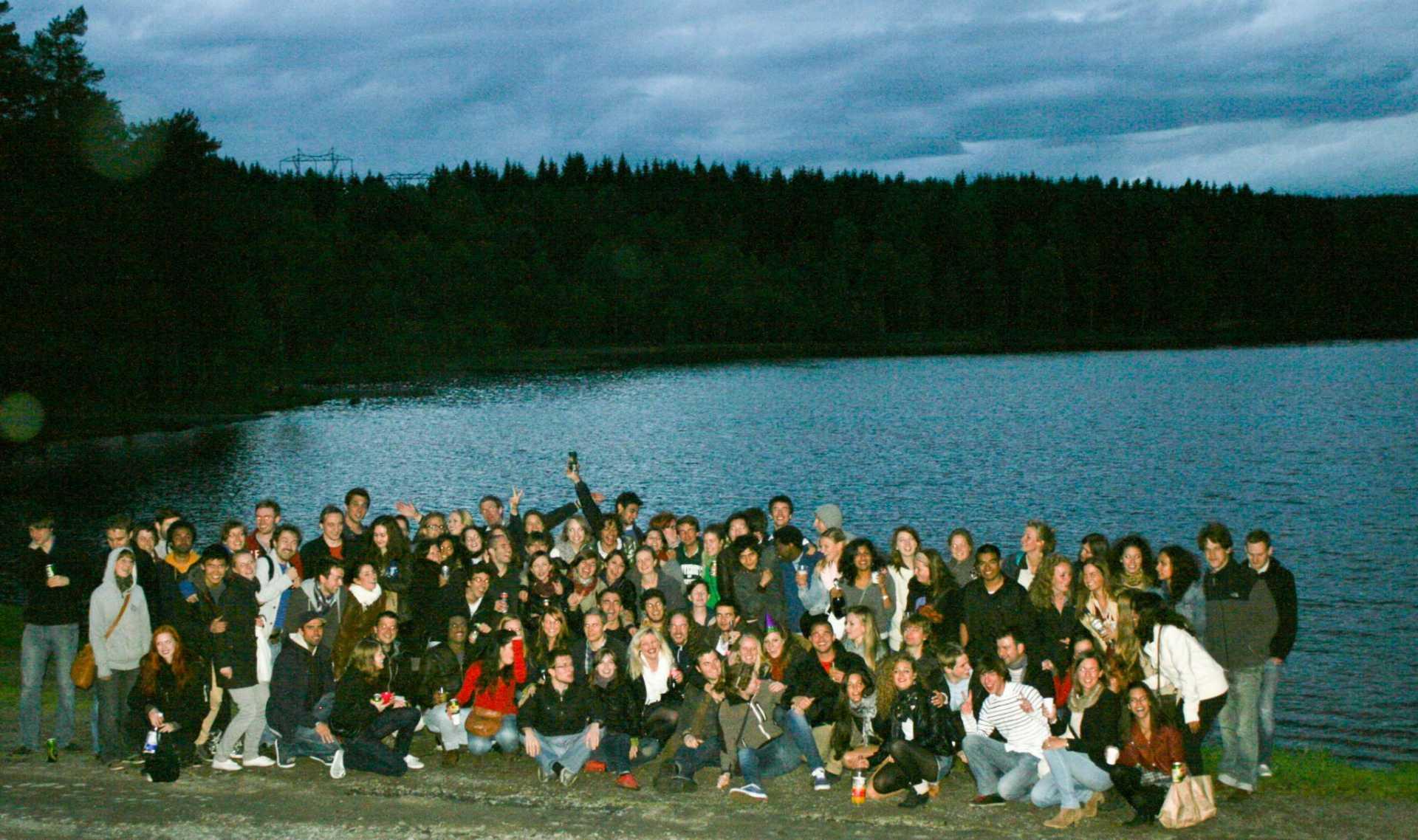 La grande festa d'addio a Sognsvann