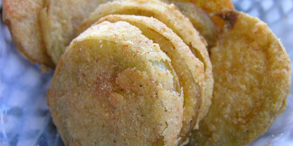 Sapor d'oltreoceano: Pomodori Verdi Fritti