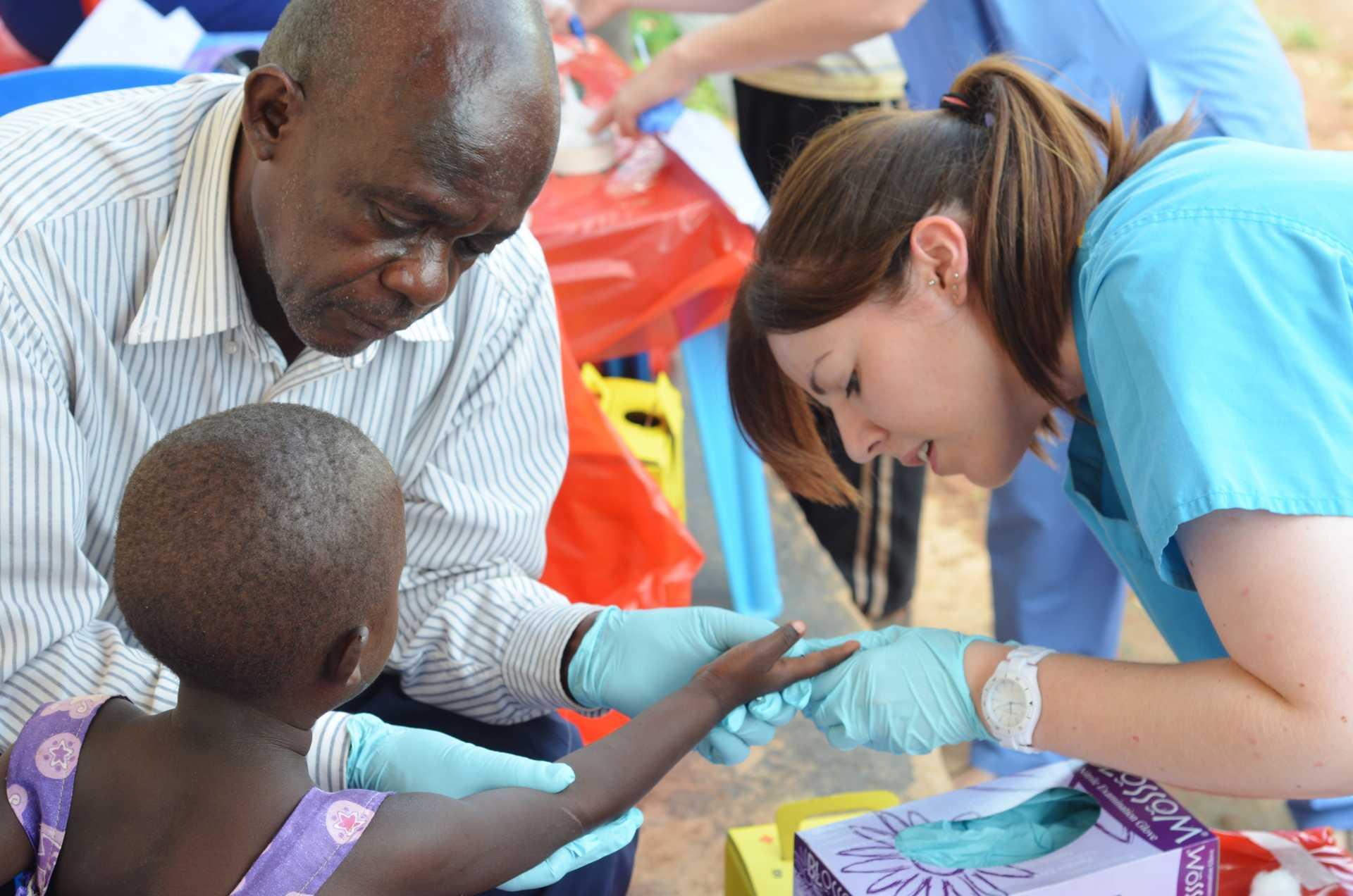 Volontari in Africa
