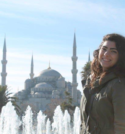 Elina a Istanbul