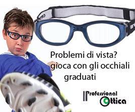 Scopri gli occhiali graduati per il tuo sport preferito
