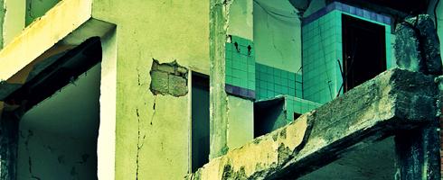 26520 ore di silenzio: quello che resta dello studentato a L'Aquila