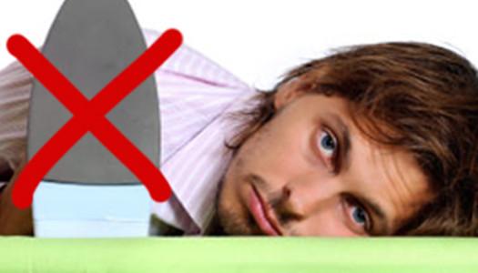 5 consigli per non stirare