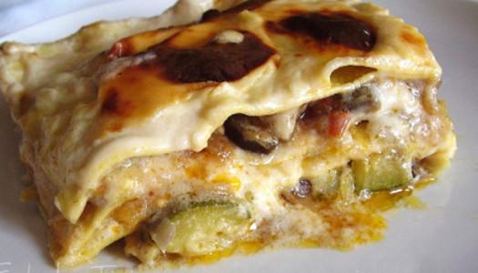 Lasagne vegetariane con 5€