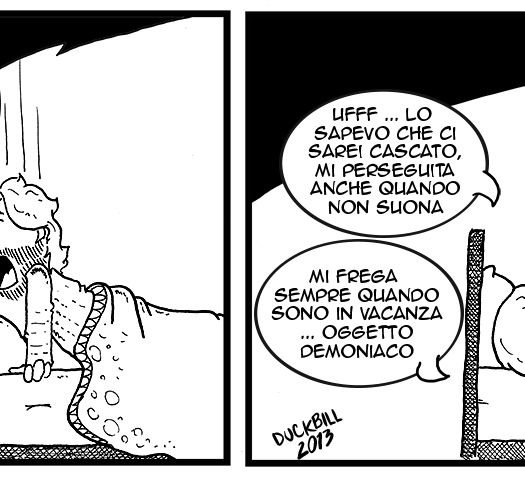 Oggetto demoniaco - StudentiFuori by Duckbill #37