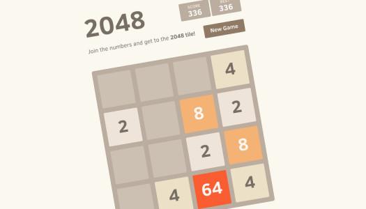 2048, il gioco tormentone che non ti farà più studiare a lezione