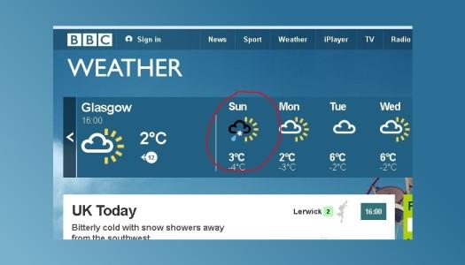Cosa (non) aspettarsi dall'assurdo clima scozzese