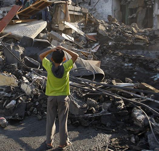 Essere bambini a Gaza