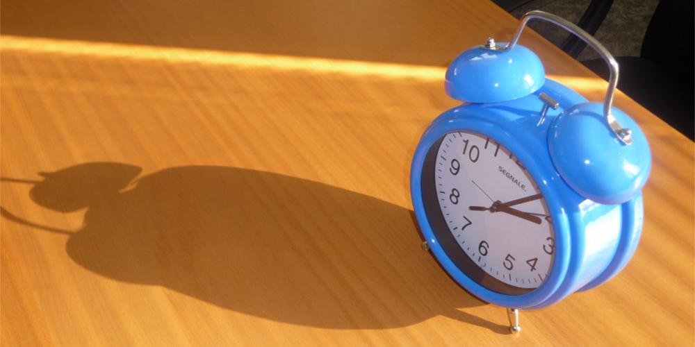 Back to reality #1: Come svegliarsi presto al mattino