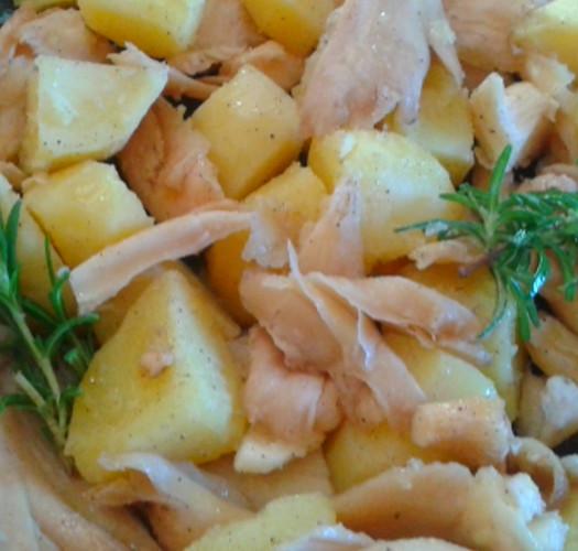 Come non sentire la mancanza della carne: funghi e patate al forno