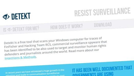 """I governi ci spiano? Arriva """"Detekt"""", software libero per proteggere i nostri PC"""